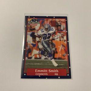 Emmitt Smith '91 Fleer Card